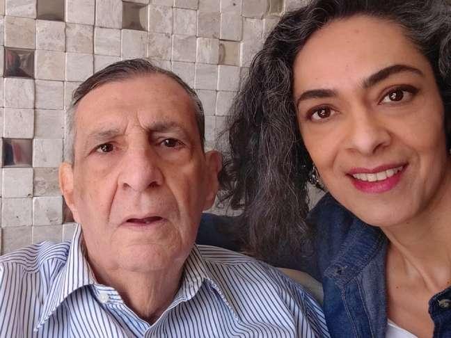 Milton de Sousa e a filha Daniela Xavier e Sousa / Crédito: Doctor Feet_Divulgação