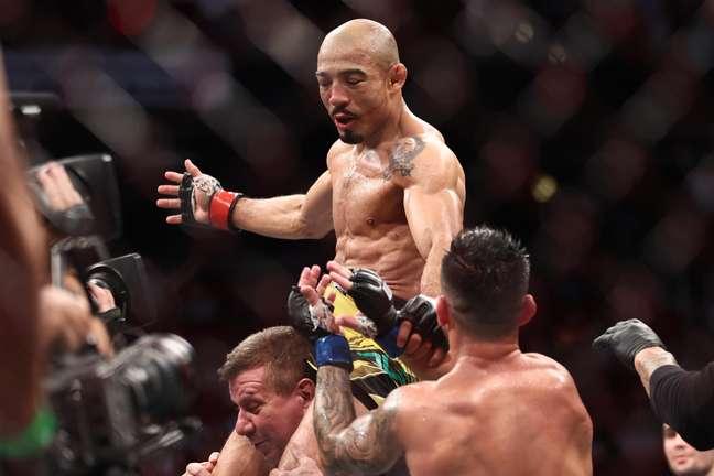 José Aldo venceu a sua segunda luta seguida