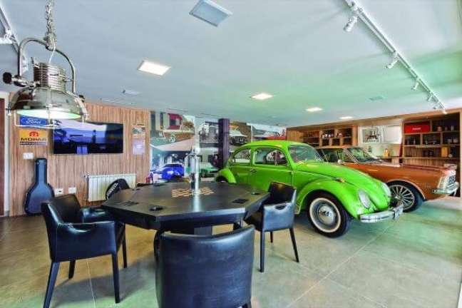 67. Casa com garagem moderna – Foto Pinterest