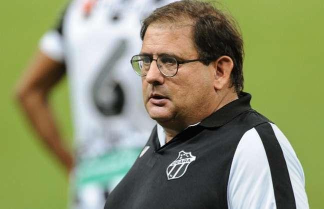 Treinador saiu descontente com atuação da equipe (Israel Simonton/Ceará SC)