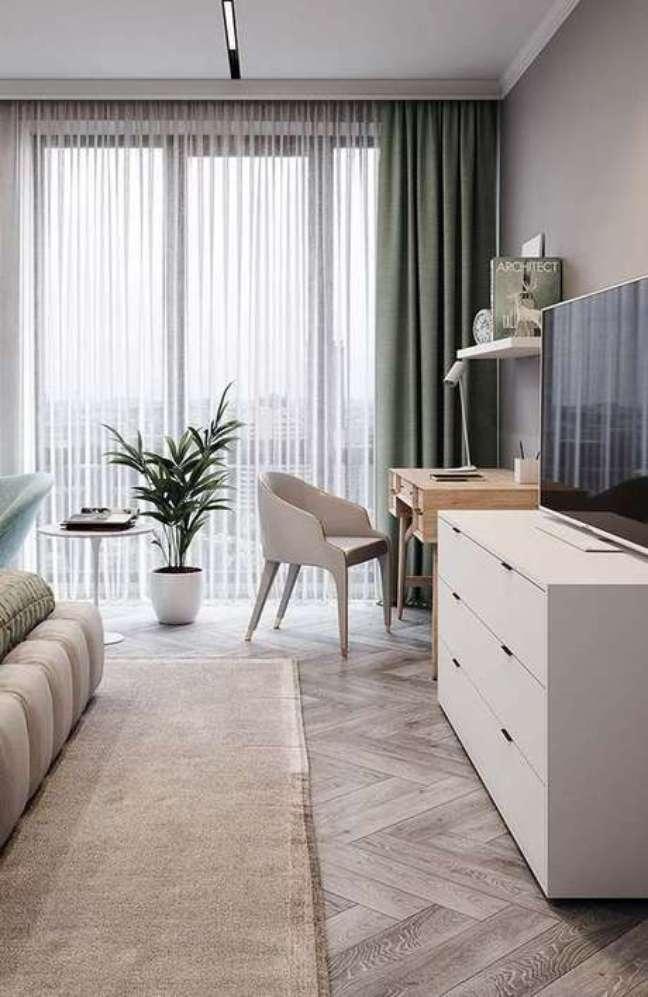 6. Rack para quarto com móveis modulados – Foto Revista VD