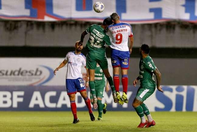 Bahia venceu o Jaconero por 1 a 0 (Foto: Divulgação/EC Bahia)
