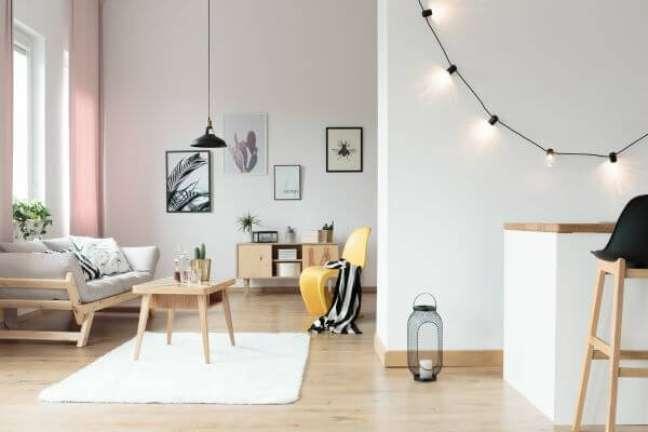 10. O que faz um arquiteto na decoração de interiores iluminada – Foto Arquiteto de bolso