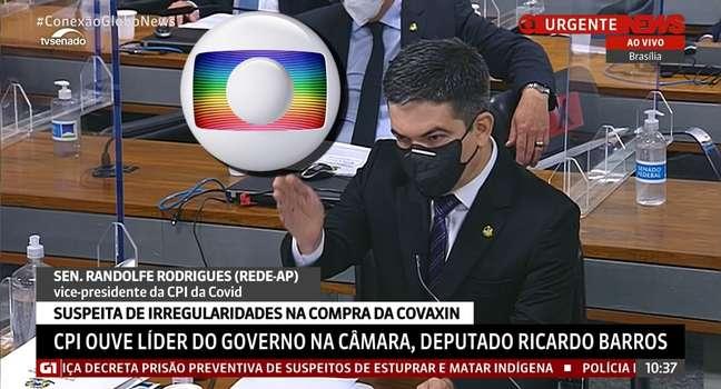 Senador Randolfe Rodrigues foi contestado por entrevista ao 'Profissão Repórter'