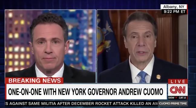 Mano a mano: Chris deu valioso espaço na CNN para o irmão Andrew promover suas ações como governador