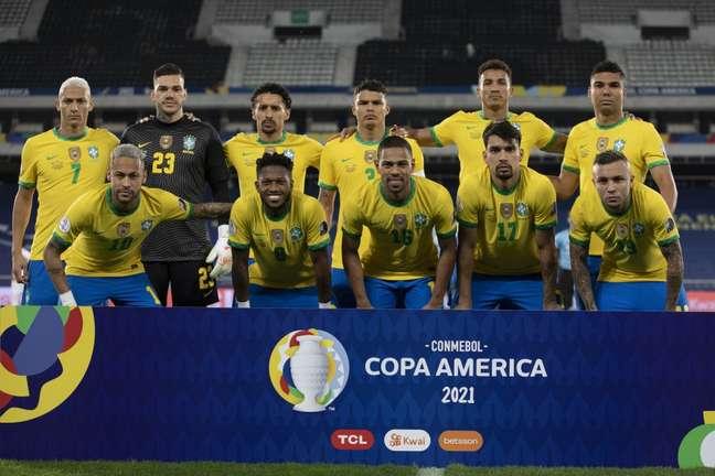 Seleção, vice-campeã da última Copa América, lidera eliminatórias com futebol robotizado Lucas Figueiredo/CBF