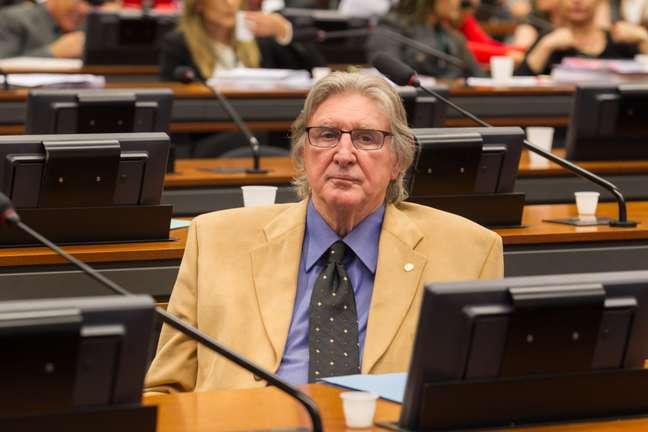 Sérgio Reis em 2015, época em que era deputado federal pelo PRB