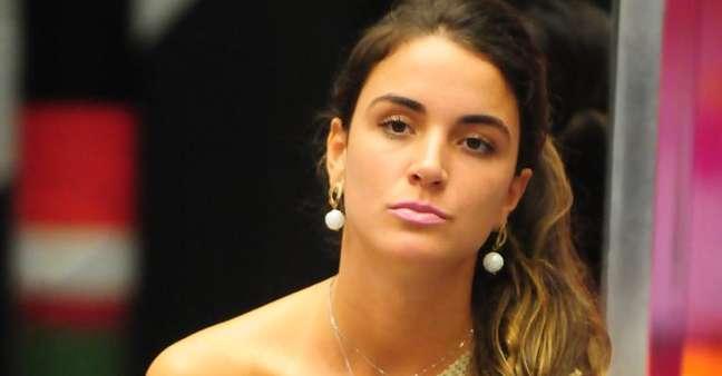 Laisa foi a 6ª eliminada do programa com 88% dos votos. Reprodução: Rede Globo