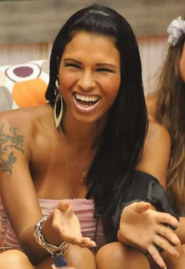 Ariadna foi a primeira transexual do Big Brother Brasil. Reprodução: Rede Globo