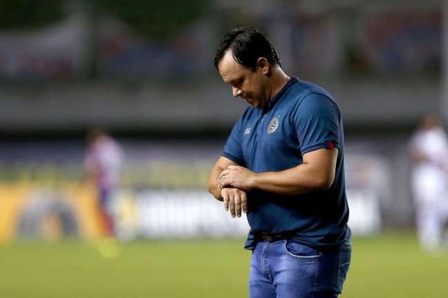 Treinador vive momento delicado no Esquadrão (Felipe Oliveira/EC Bahia)