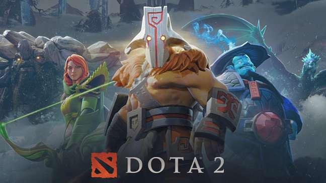 Dota 2 é um envolvente multiplayer com foco em aprimoramento de heróis para combate.