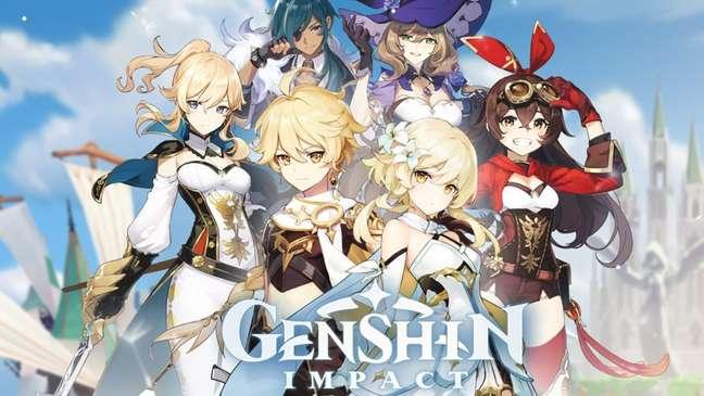 Com mundo aberto interativo, Genshin Impact chegou a ser comparado com Zelda por jogadores.