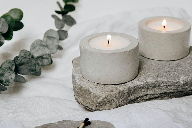 Como usar velas na decoração
