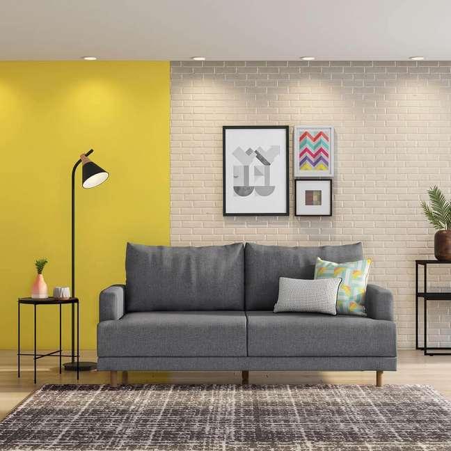 3. Complemente a decoração com outros móveis pé palito para um visual uniforme – Foto: Tok&Stok