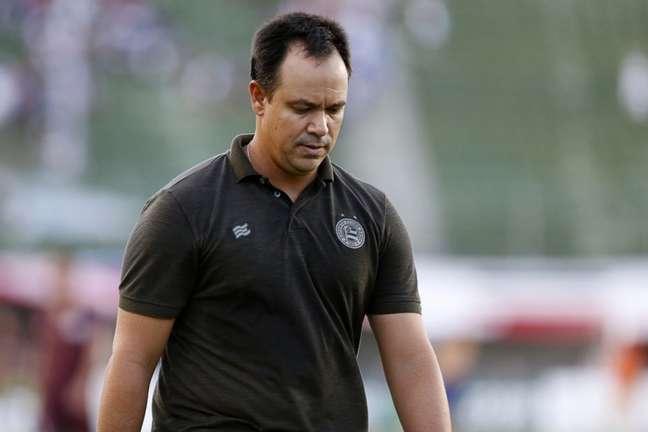 Técnico dirigia o time principal desde dezembro do ano passado (Felipe Oliveira/Divulgação/EC Bahia)