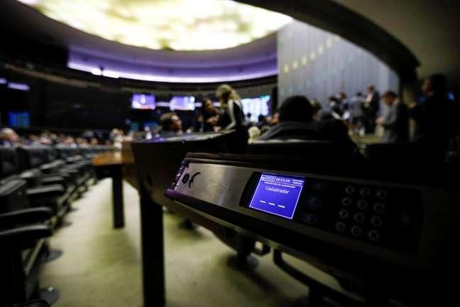 Vista do plenário da Câmara dos Deputados, em Brasília  10/07/2019 REUTERS/Adriano Machado