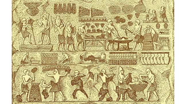 Os antigos egípcios foram os primeiros a assar pão, mas as leveduras que usavam provavelmente eram diferentes das que existem hoje