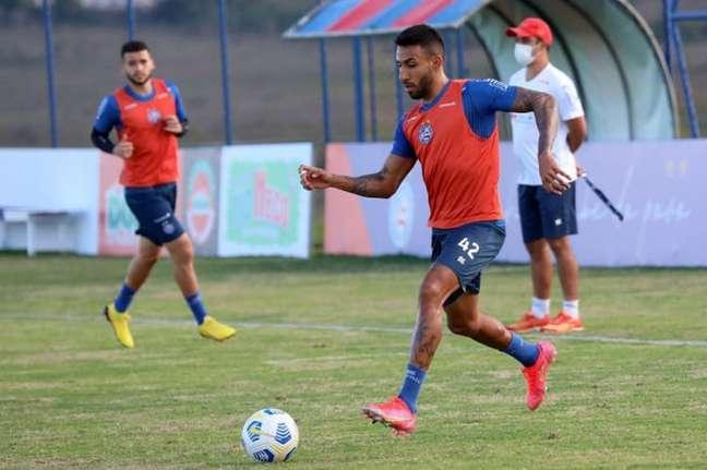 Jogador é formado na base do Santos (Felipe Oliveira/EC Bahia)