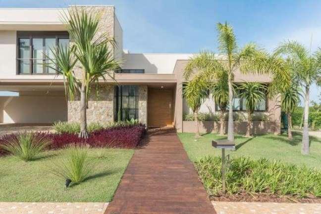 43. Cores para fachadas de casas modernas – Foto Janninis Agarra Arquitetura