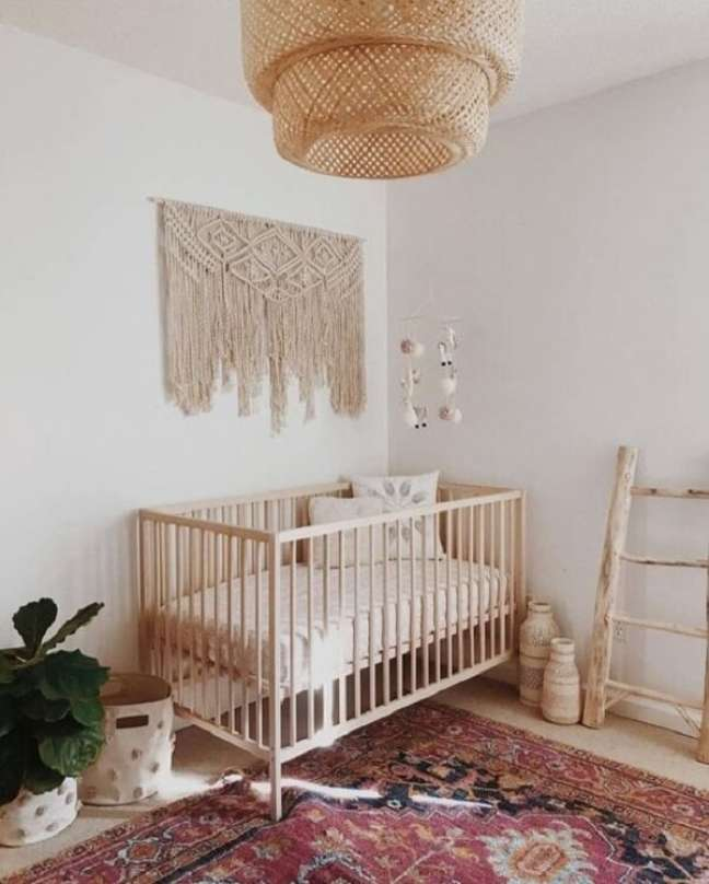 30. Modelo de quarto de bebê decoração safári simples. Fonte: Revista Viva Decora
