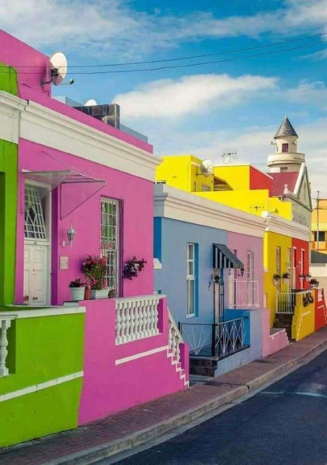 58. Fachadas de casas coloridas e modernas – Foto Pinterest