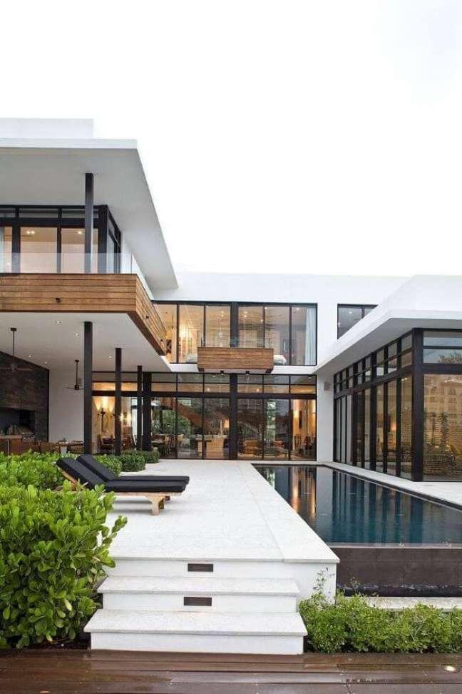 114. Piscinas modernas para casas grandes e sofisticadas – Foto KZ Architecture _ HomeAdore