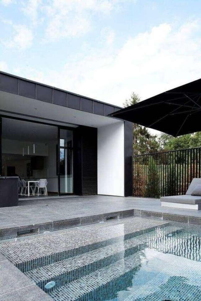 124. Revestimento para piscinas modernas e chiques Foto Milhão de Dicas
