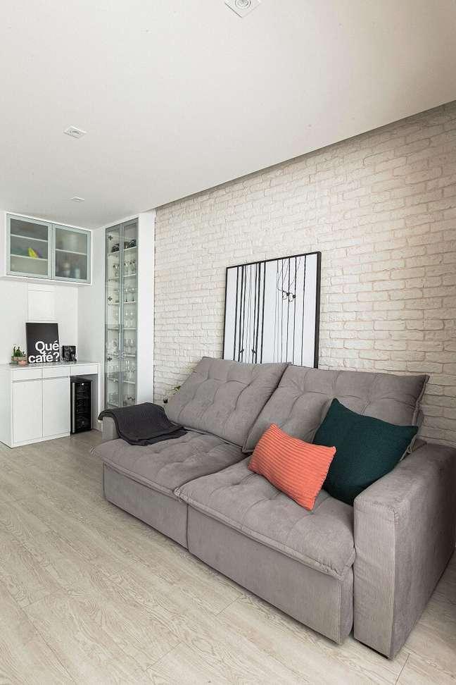 5. A variedade de opções de papéis de parede existem para atender a todos os gostos e estilos. Foto: Habitissimo