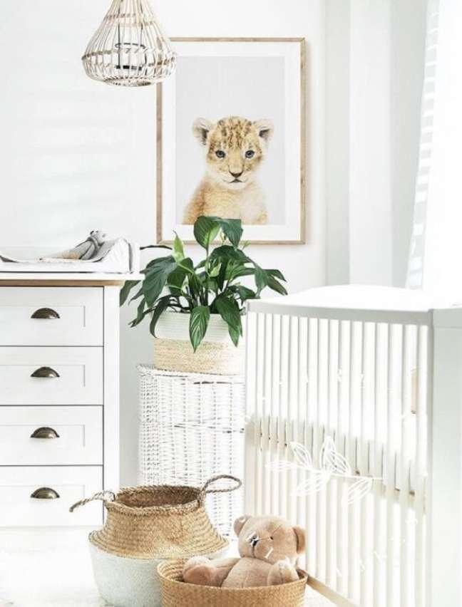 24. Detalhes que fazem toda a diferença no quarto de bebê safári. Fonte: Etsy