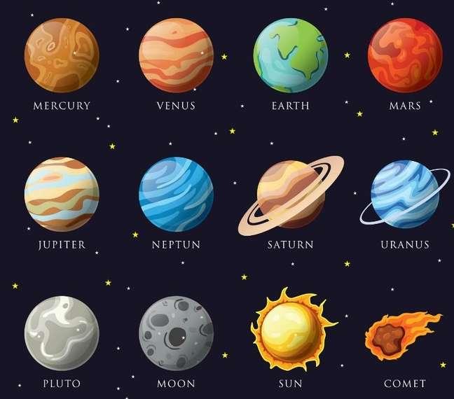 Os astros (Shutterstock)