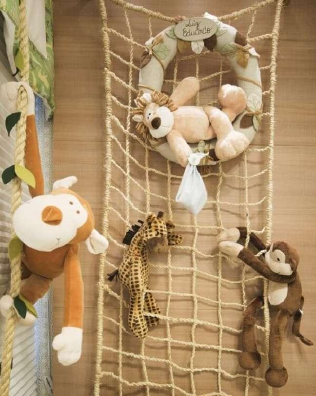 18. Aposte em ideias criativas para quarto de bebê safari. Fonte: Pinterest