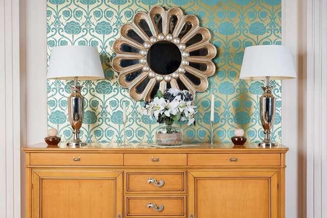 1. Conheça as vantagens de investir no papel de parede na decoração. Foto: Habitissimo