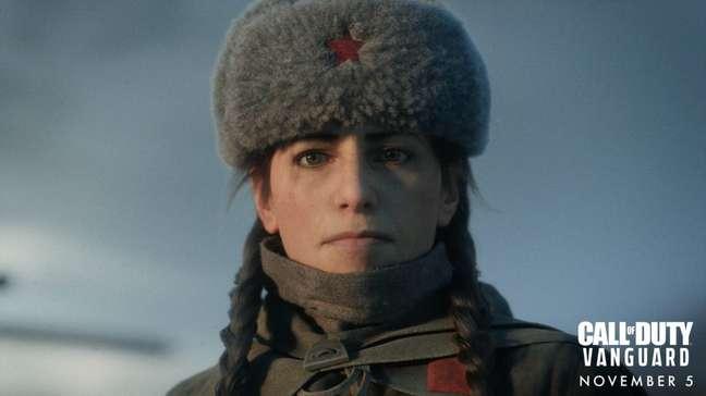A tenente Polina Petrova, de CoD: Vanguard, é inspirada na franco-atiradora Lyudmila Pavlichenko