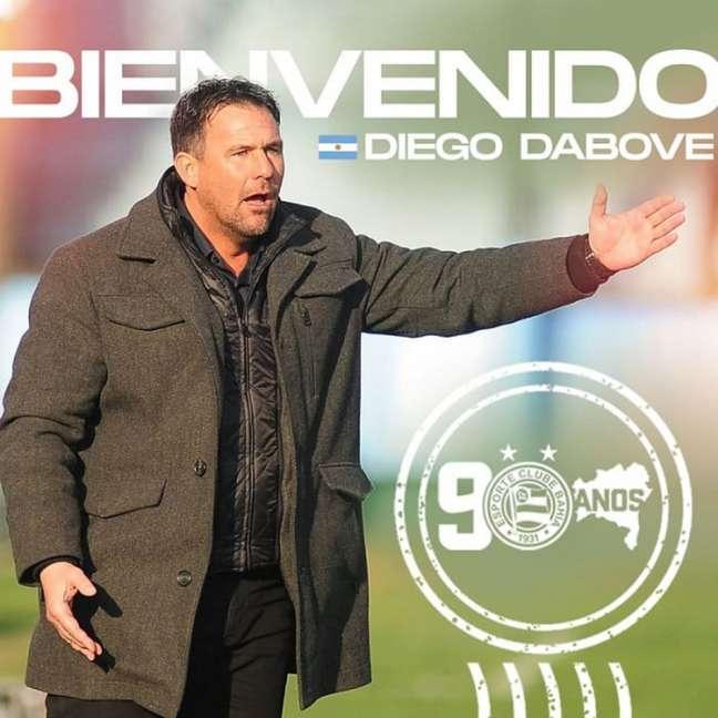 Treinador acumula bom histórico em equipes como Godoy Cruz e Argentinos Juniors (Divulgação/EC Bahia)