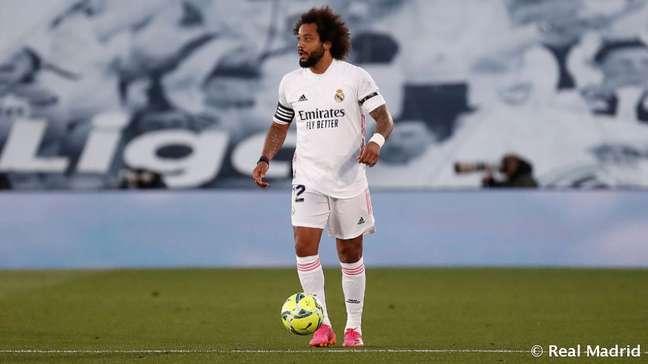 Marcelo segue fora do Real Madrid Divulgação/Real Madrid