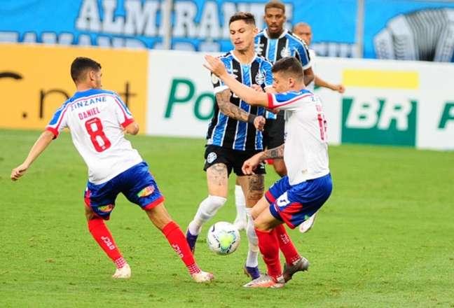 Último encontro, pela temporada 2020, terminou 2 a 1 para os gremistas (Ricardo Rimoli/Agência Lance)