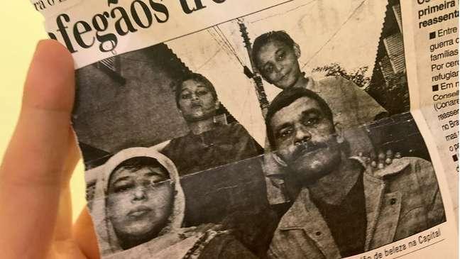 Parte dos primeiros refugiados a chegar no Brasil decidiu voltar ao Afeganistão alguns anos depois. Foi o caso do marido de Nabila (à direira), que não se adaptou