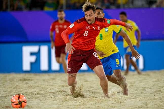 Suíços superam os brasileiros nos pênaltis em jogo de estreia no Mundial