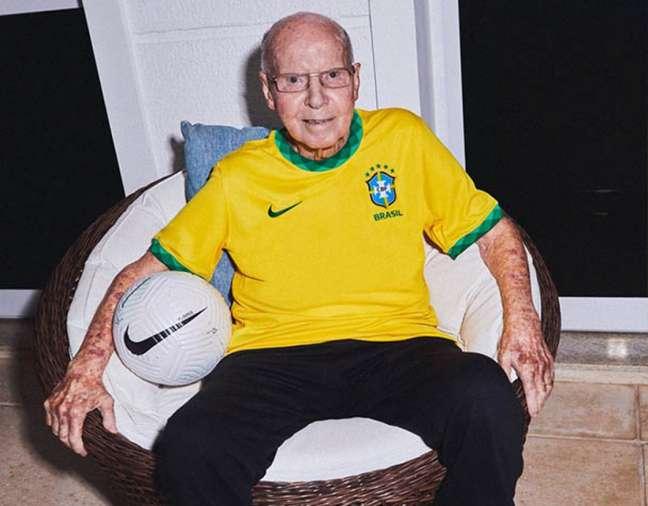Zagallo é o único tetracampeão mundial de futebol (Divulgação /CBF)