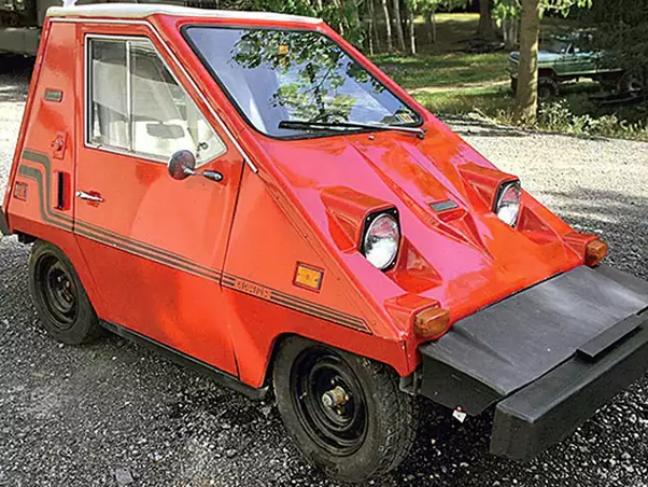 Carro elétrico dos Anos 70. Por que será que não vendia? Provavelmente alguma conspiração..