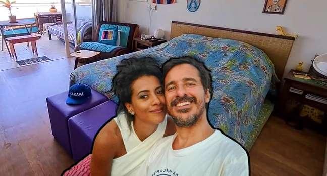 AlineMidleje RodrigoCebriandividem a paixão pelo mar