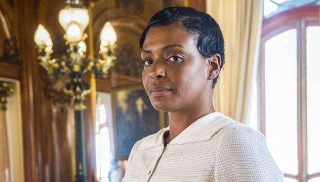 Walkiria Ribeiro como Balbina em 'Tempo de Amar': a pandemia deixou muitos artistas sem trabalho e com dívidas