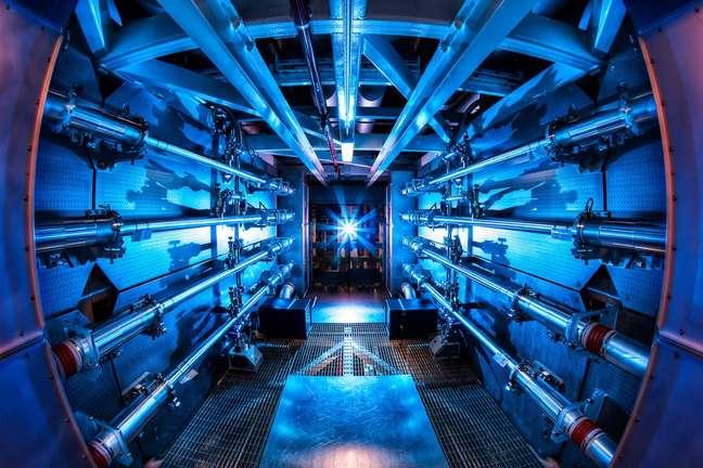 A National Ignition Facility (NIF), na Califórnia, atingiu novo recorde em suas pesquisas com fusão nuclear