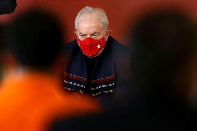 O ex-presidente Luiz Inácio Lula da Silva 12/08/2021 REUTERS/Carla Carniel