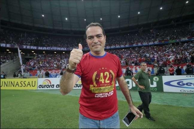 Presidente do Fortaleza, Marcelo Paz estará presente no evento (Foto: Divulgação/Fortaleza EC)