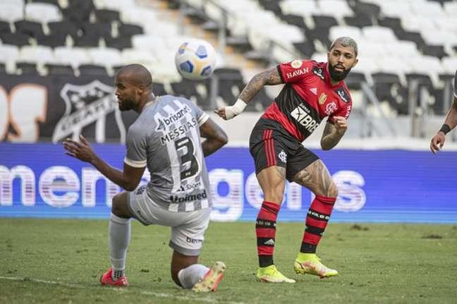 Ceará abriu o placar, mas cedeu empate contra o Fla (Foto: Alexandre Vidal / Flamengo)
