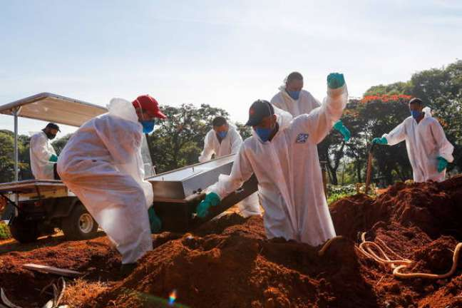 Brasil supera marca de 585 mil mortes por covid-19