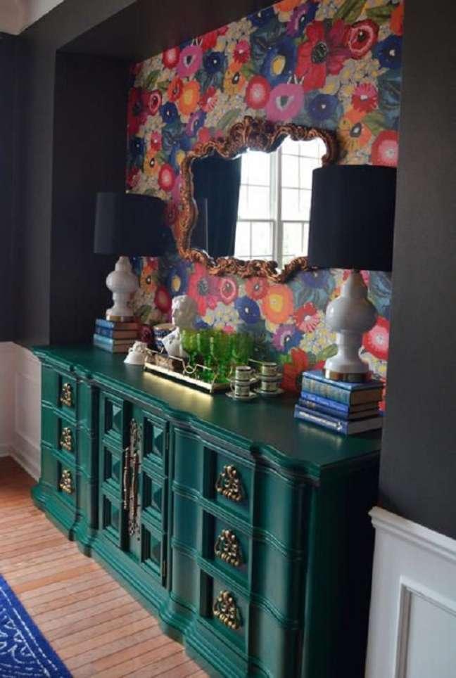 53. Reforme seus móveis vintage para ter uma decoração incrível – Foto Haneens HAven