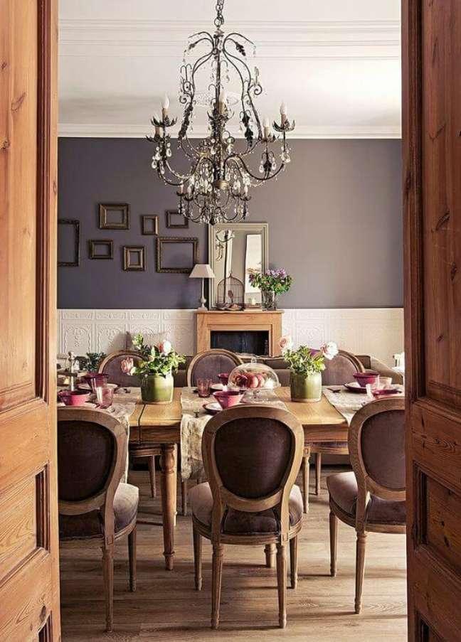 22. Mesa estilo provençal para sala de jantar rústica e chique – Foto Nicety