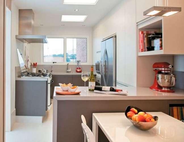 27. Feng Shui cozinha: mantenha o cômodo iluminado e ventilado. Fonte: Arkpad